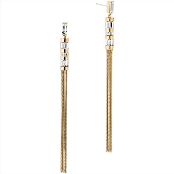 cc299062e Michael Kors Jewelry   Black Tie Affair Tassel Earrings   Poshmark